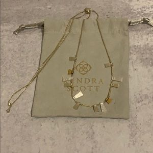 Lynne Adjustable Necklace in Mixed Metal